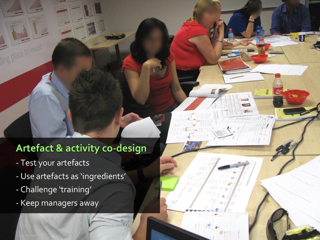 Artefact & activity co-design - Test your artef...