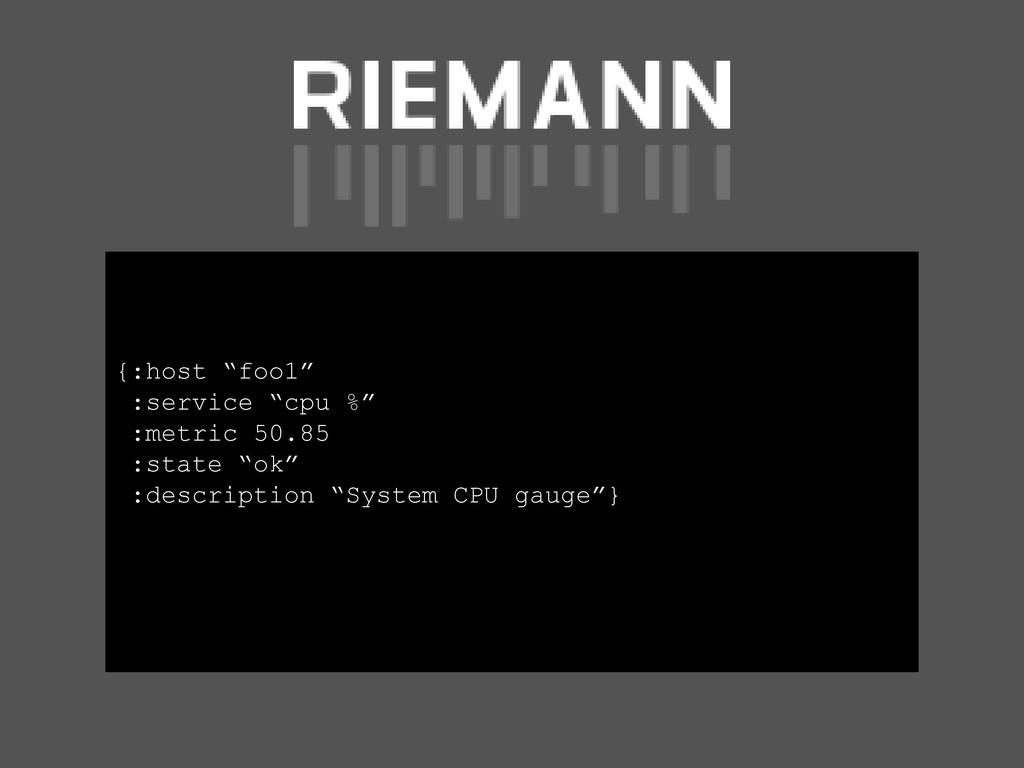 "{:host ""foo1"" :service ""cpu %"" :metric 50.85 :s..."