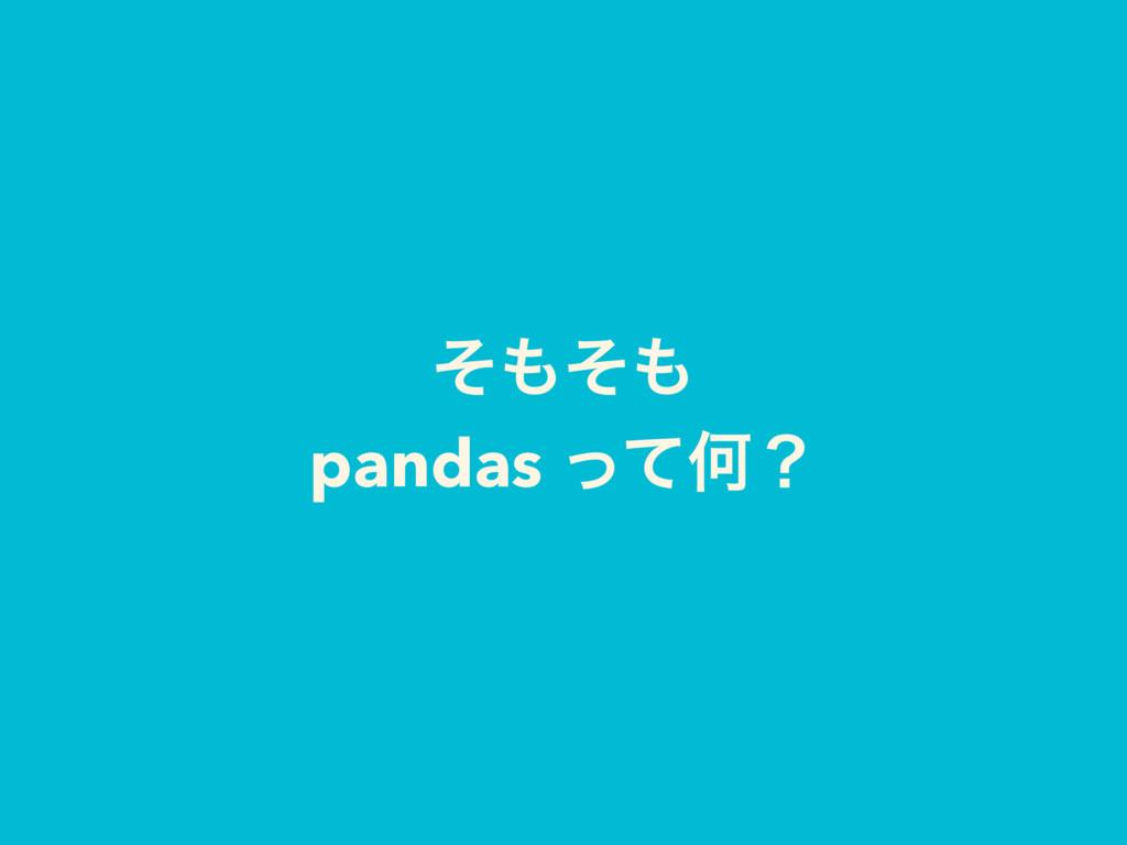 ͦͦ pandas ͬͯԿʁ