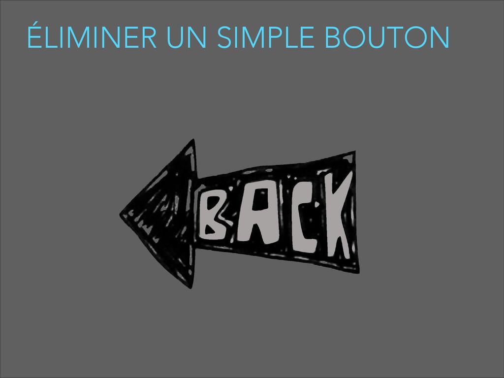 ÉLIMINER UN SIMPLE BOUTON