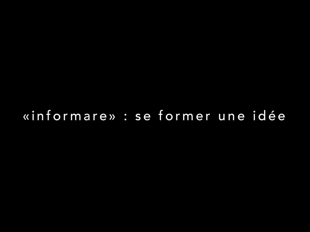 « i n f o r m a re » : s e f o r m e r u n e i ...