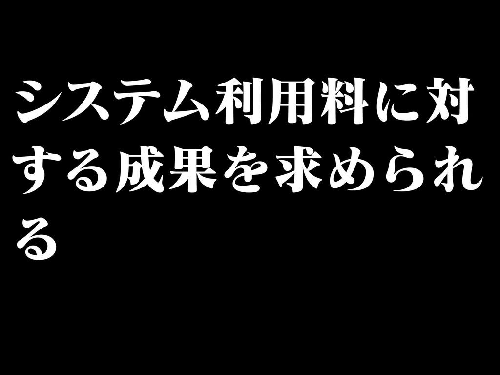 γεςϜར༻ྉʹର ͢ΔՌΛٻΊΒΕ Δ