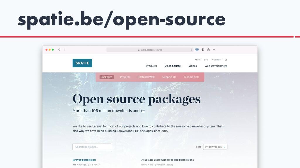 spatie.be/open-source