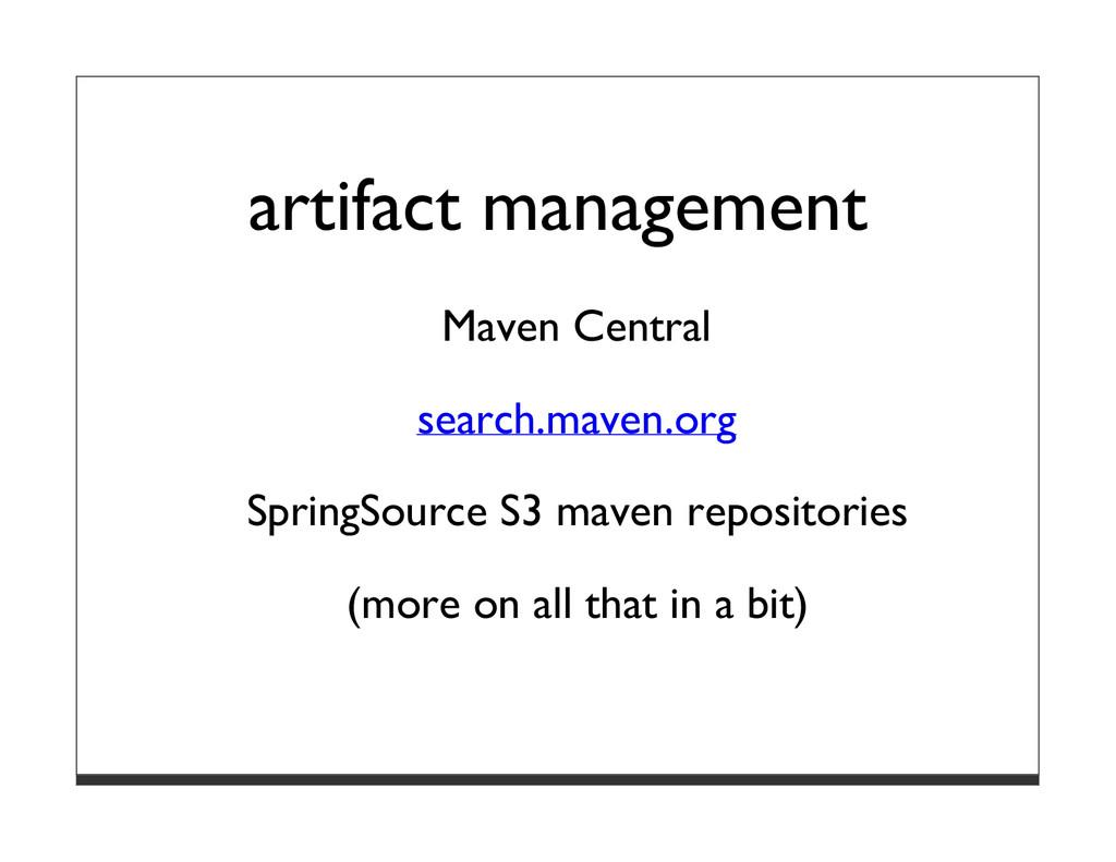 artifact management Maven Central search.maven....