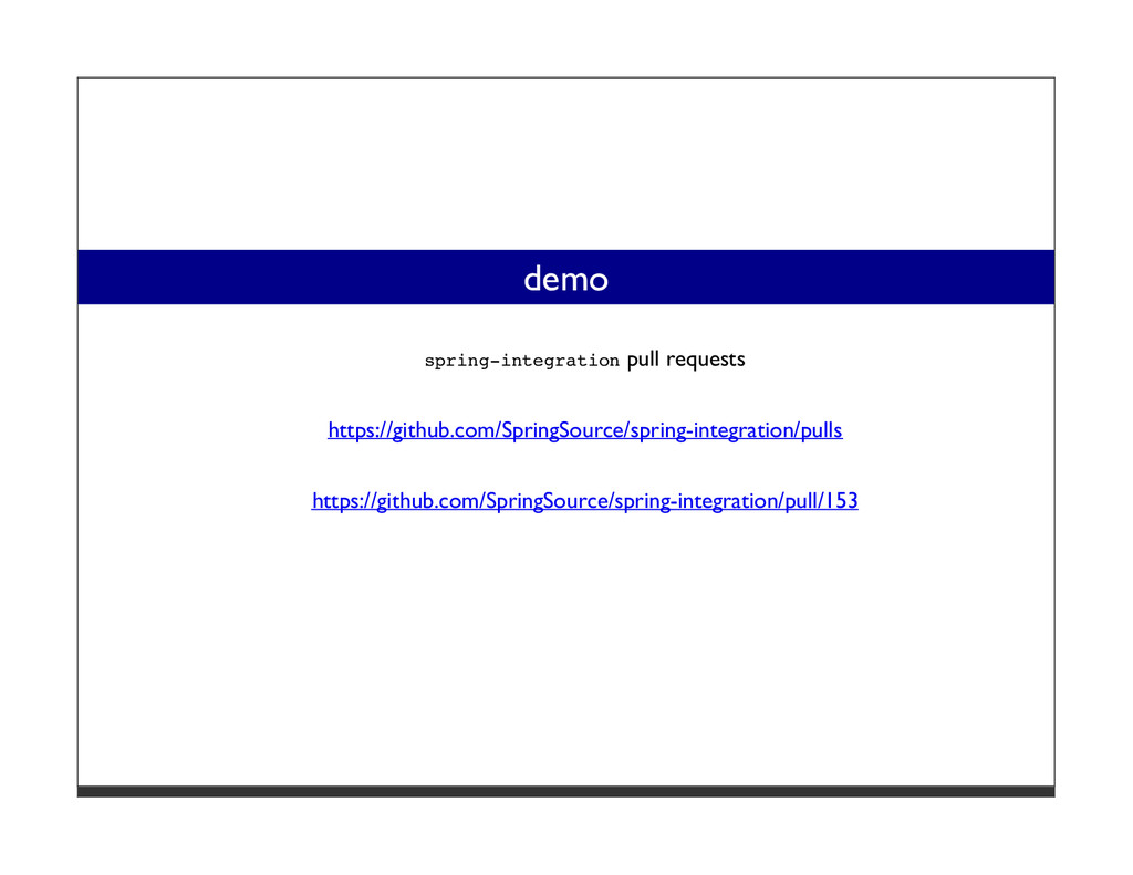 demo spring-integration pull requests https://g...