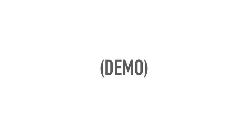 (DEMO)