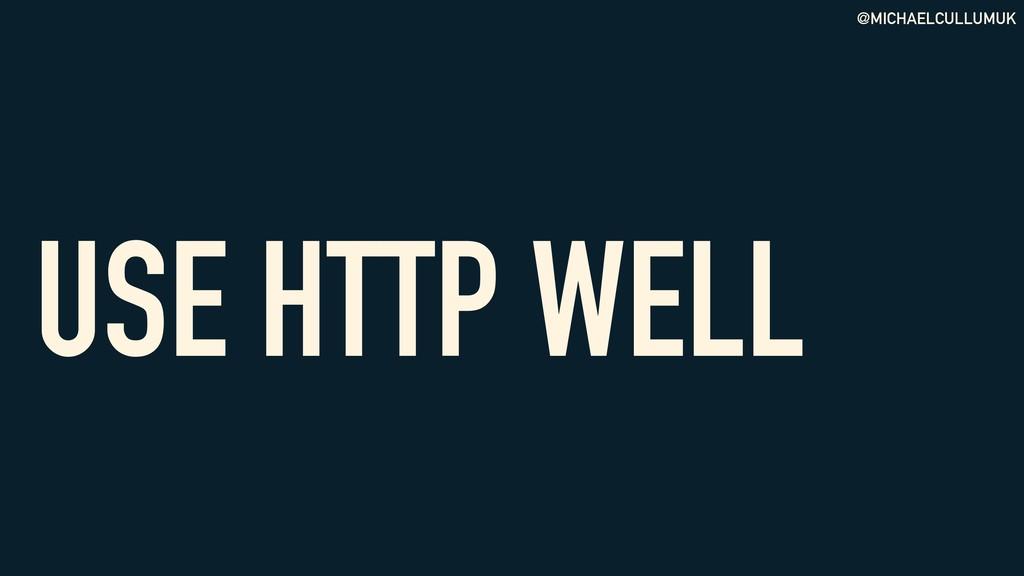 @MICHAELCULLUMUK USE HTTP WELL