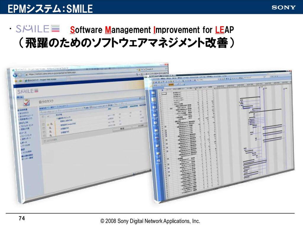 • Software Management Improvement for LEAP (飛躍の...