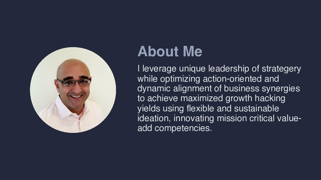 About Me I leverage unique leadership of strate...