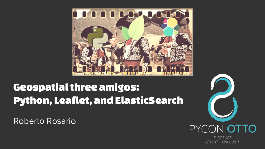Geospatial three amigos: Python, Leaflet, and E...