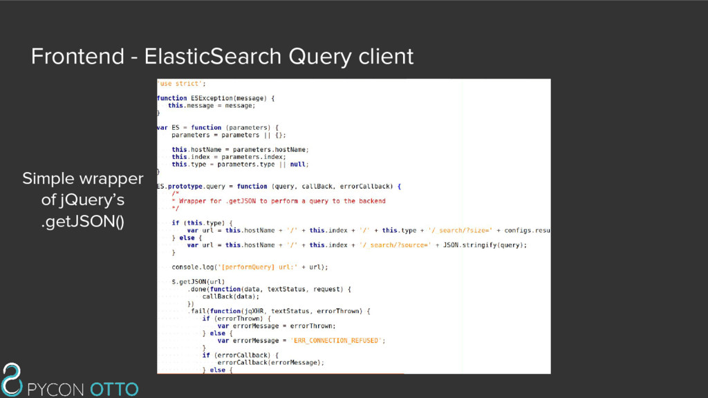 Frontend - ElasticSearch Query client Simple wr...