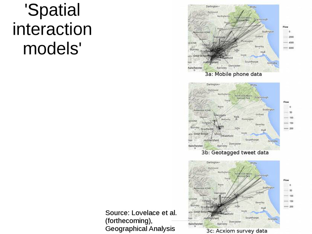 'Spatial interaction models' Source: Lovelace e...