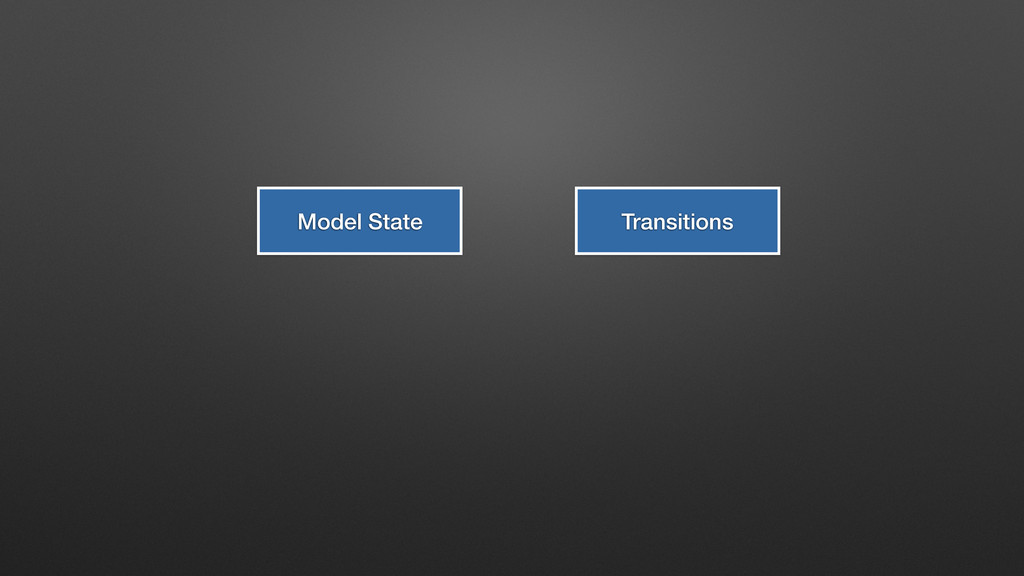 Model State Transitions