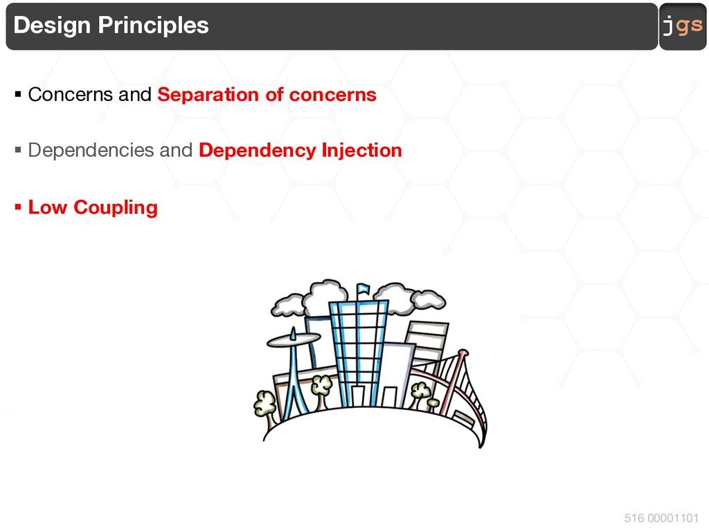 jgs 516 00001101 Design Principles § Concerns a...