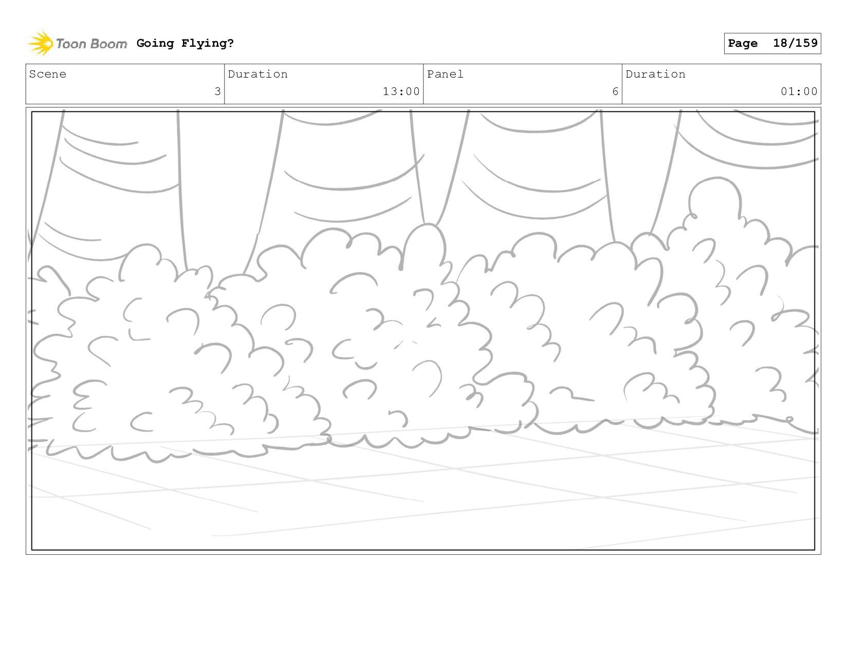 Scene 3 Duration 12:00 Panel 6 Duration 01:00 G...