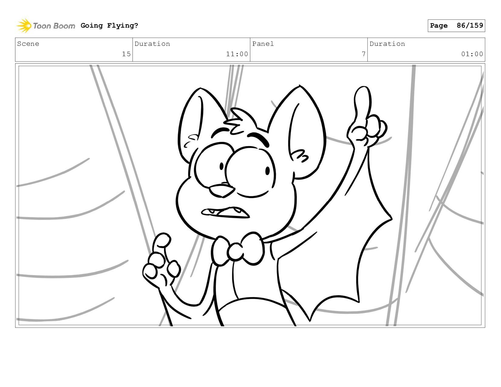 Scene 15 Duration 10:00 Panel 10 Duration 01:00...