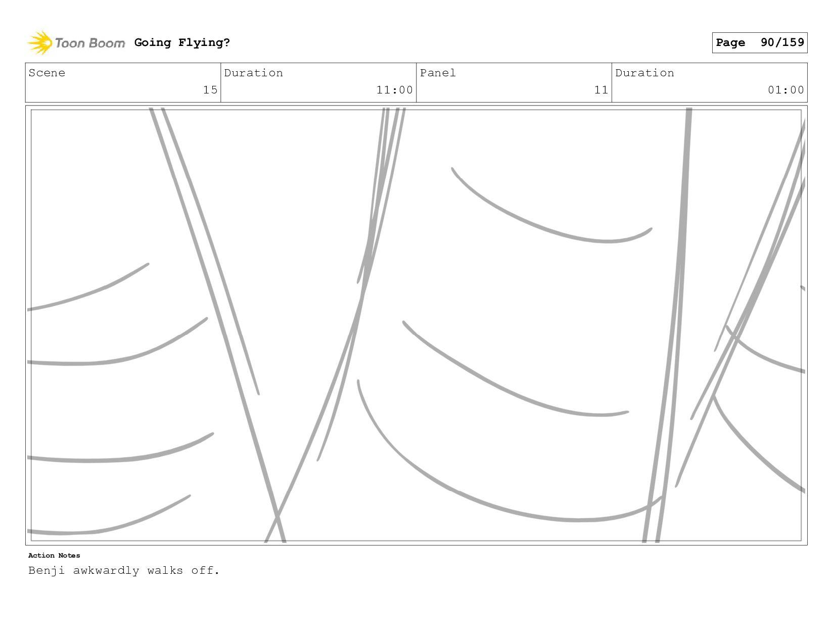 Scene 17 Duration 04:00 Panel 1 Duration 01:00 ...