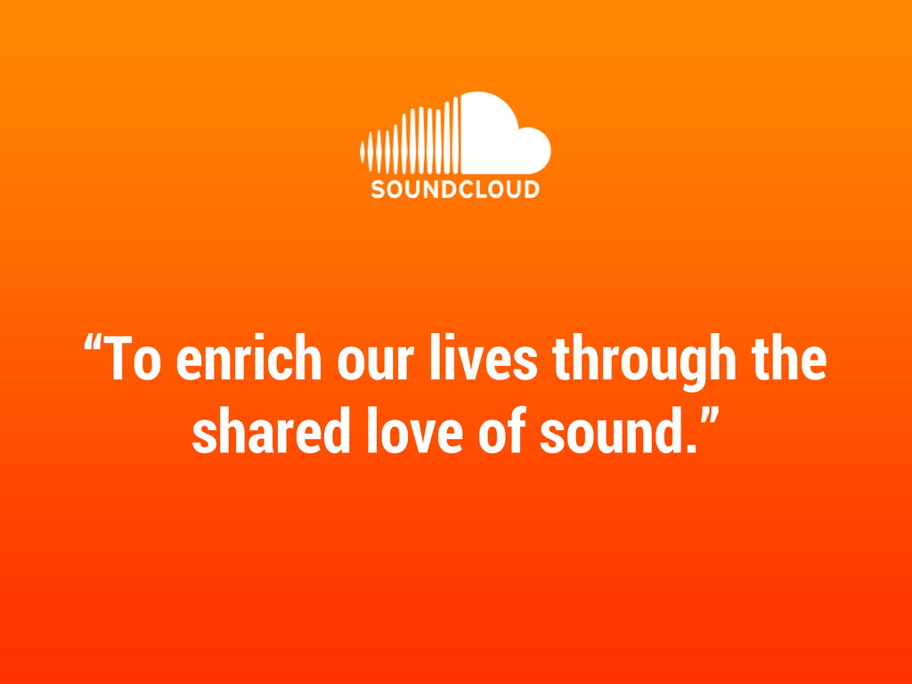 """To enrich our lives through the shared love of..."