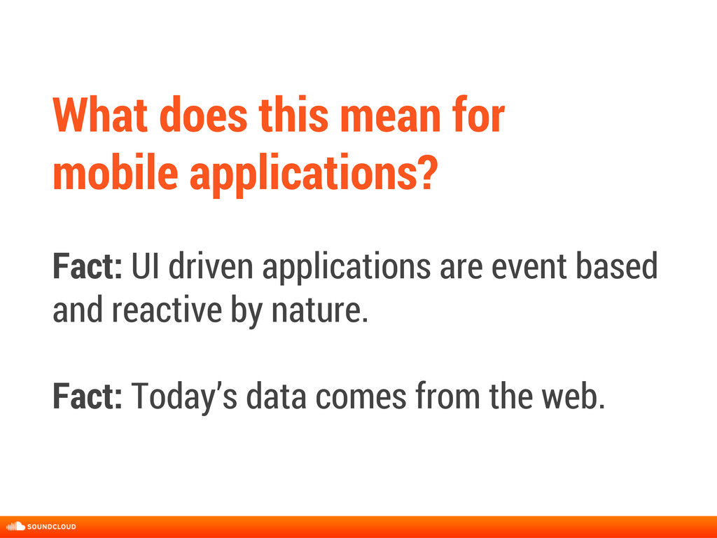 What does this mean for mobile applications? Fa...