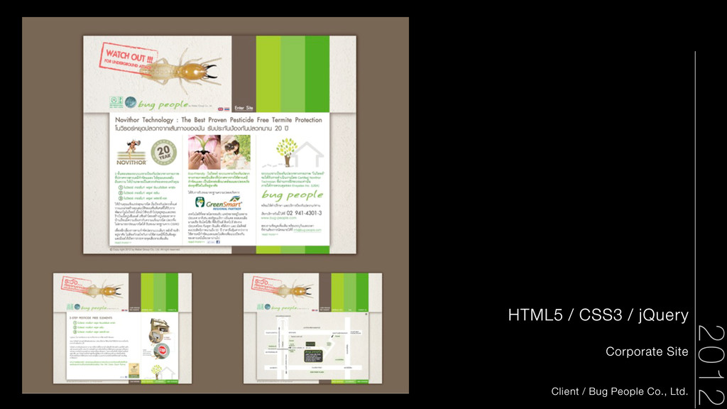 2012 HTML5 / CSS3 / jQuery Corporate Site Clien...