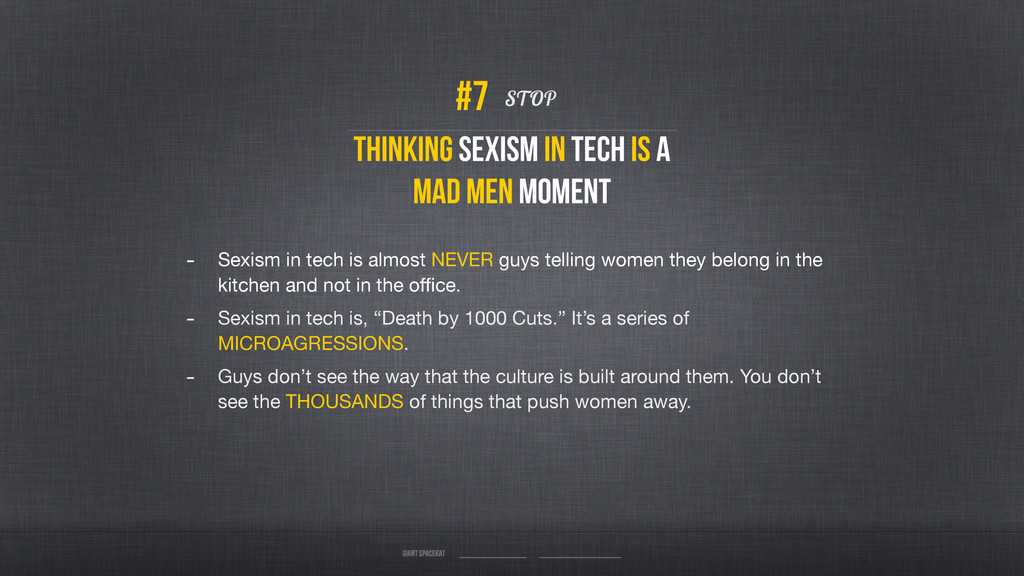 Thinking sexism in tech is a Mad Men Moment STO...