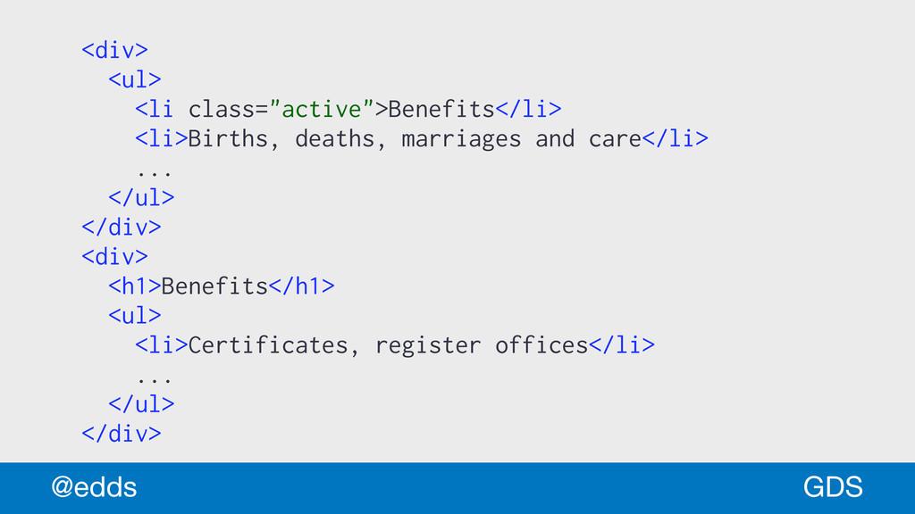 "<div> <ul> <li class=""active"">Benefits</li> <li..."