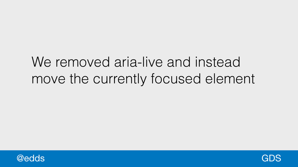 We removed aria-live and instead move the curre...