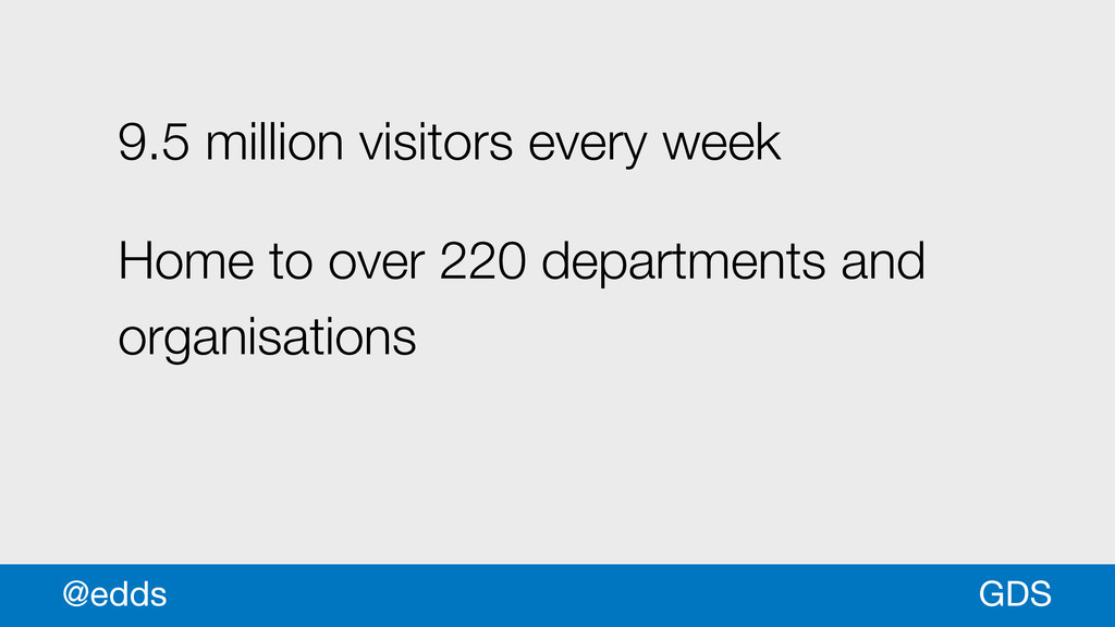 9.5 million visitors every week Home to over 22...