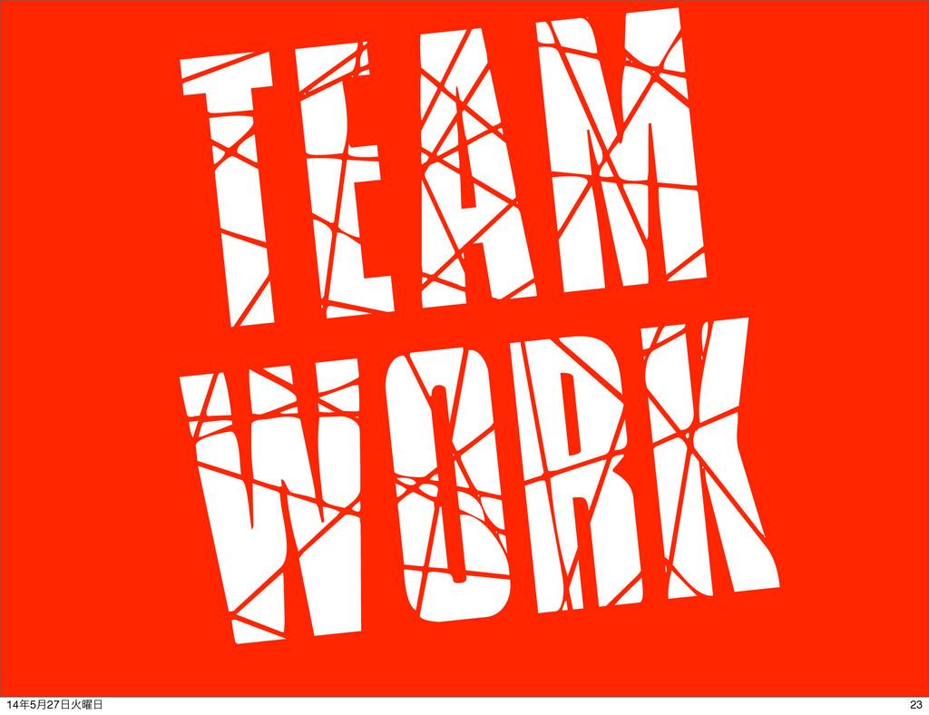 Team Work 23 145݄27Ր༵