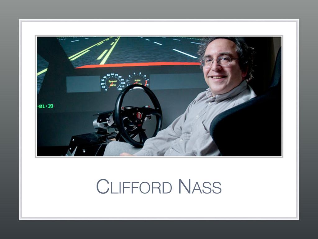 CLIFFORD NASS