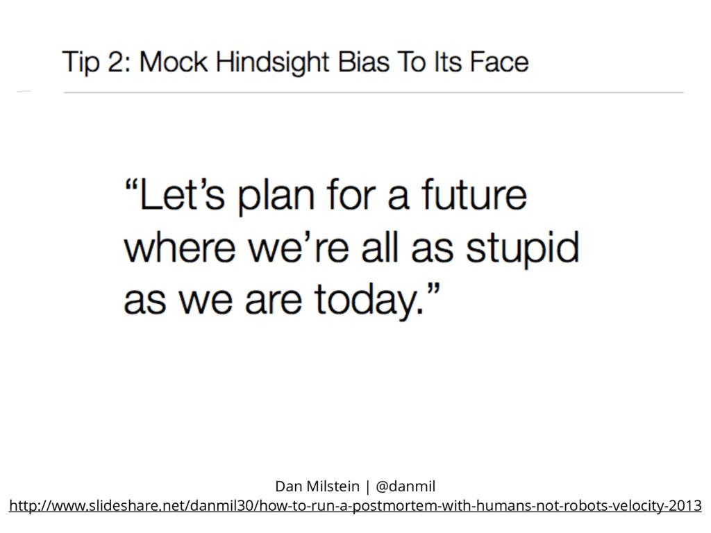 Dan Milstein | @danmil http://www.slideshare.ne...
