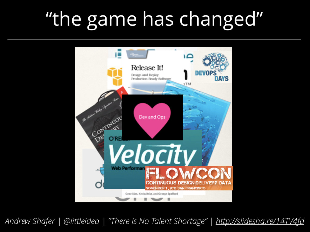 """""""the game has changed"""" Andrew Shafer 