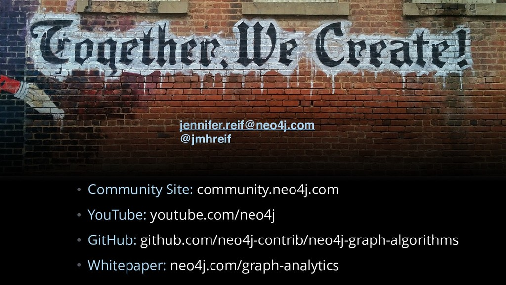 • Community Site: community.neo4j.com • YouTube...