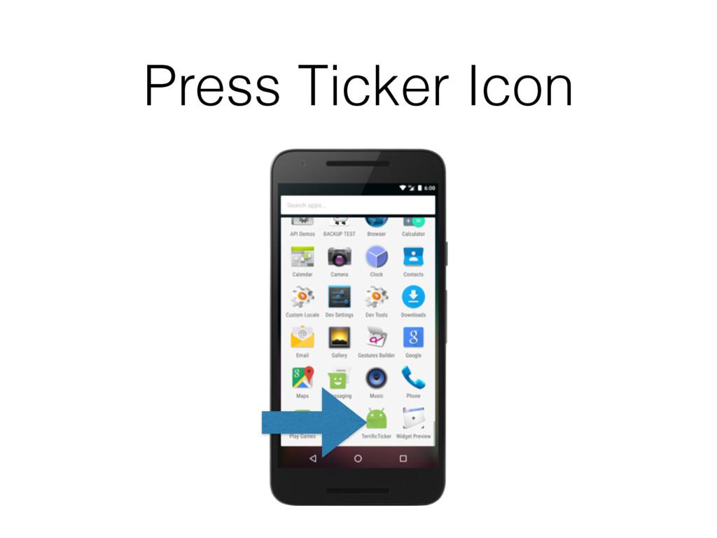 Press Ticker Icon