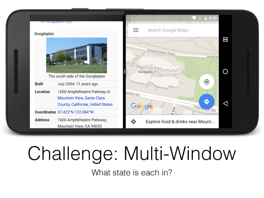 Challenge: Multi-Window What state is each in?