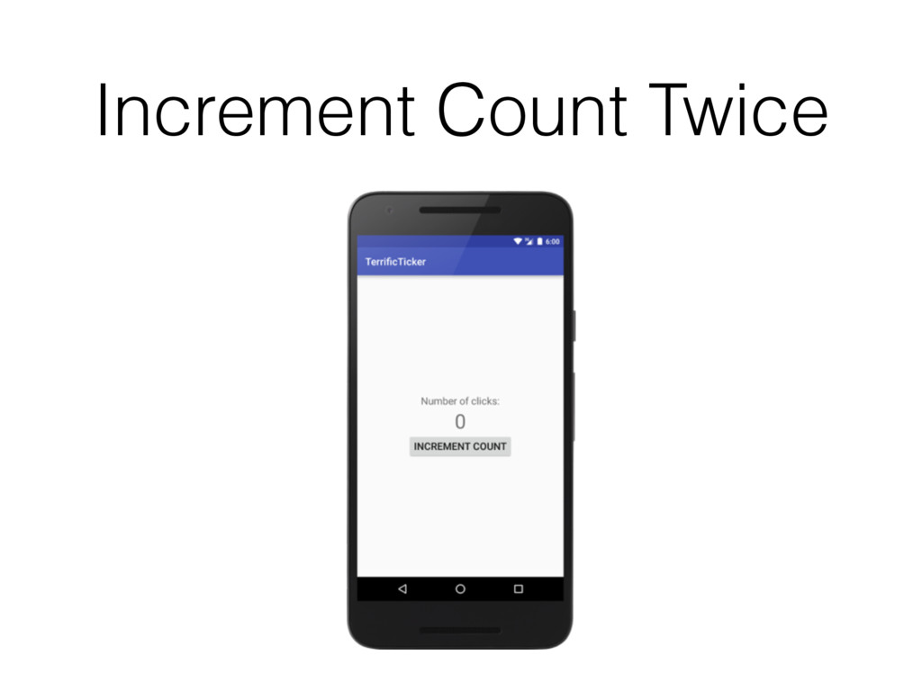 Increment Count Twice