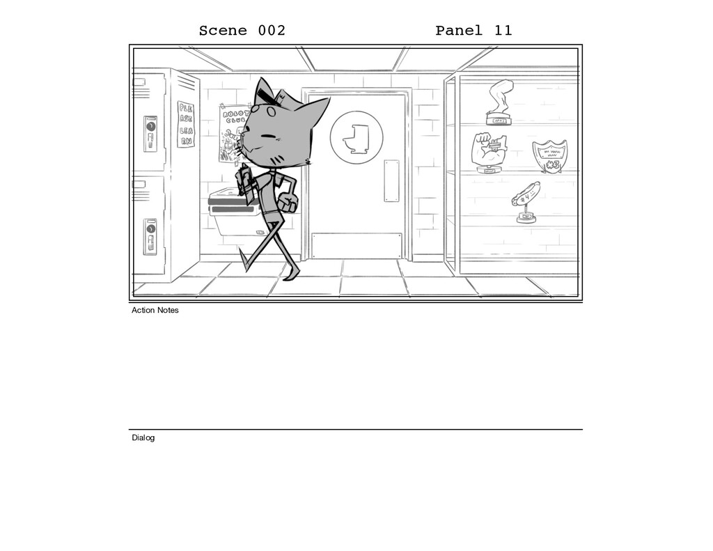 Scene 002 Panel 11 Dialog Action Notes