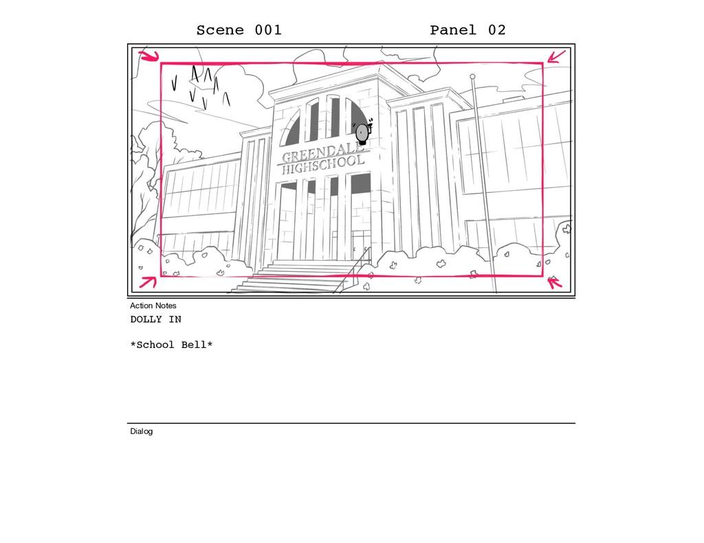 DOLLY IN *School Bell* Scene 001 Panel 02 Dialo...