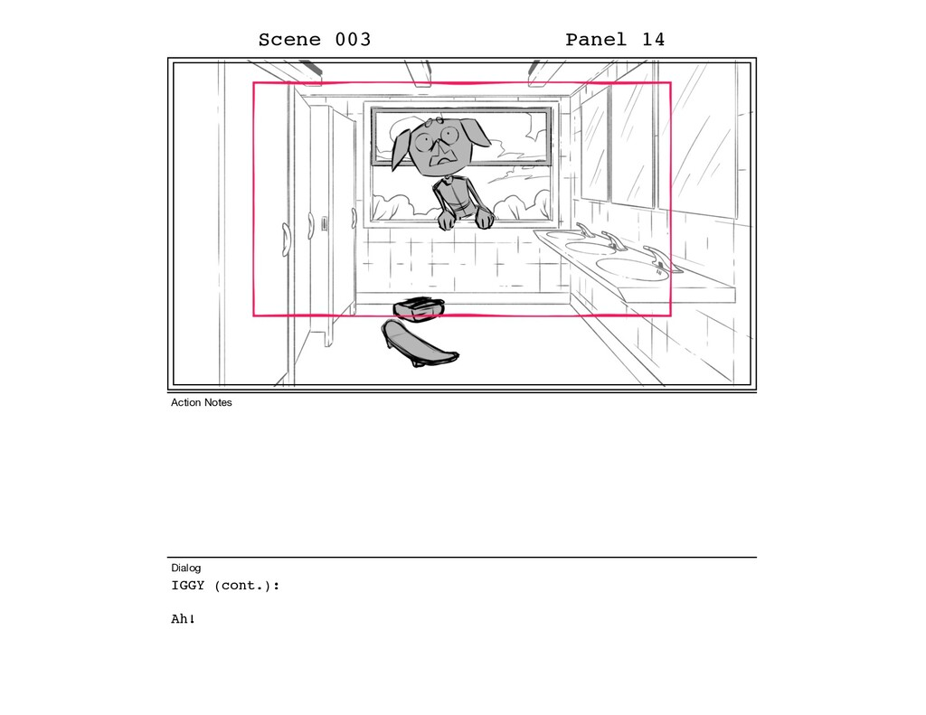 IGGY (cont.): Ah! Scene 003 Panel 14 Dialog Act...