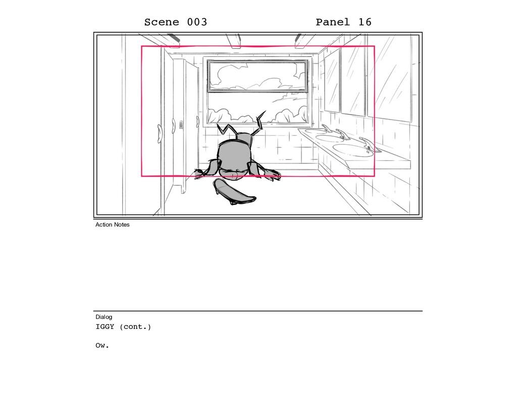 IGGY (cont.) Ow. Scene 003 Panel 16 Dialog Acti...