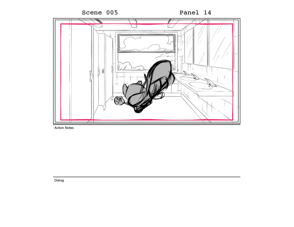 Scene 005 Panel 14 Dialog Action Notes