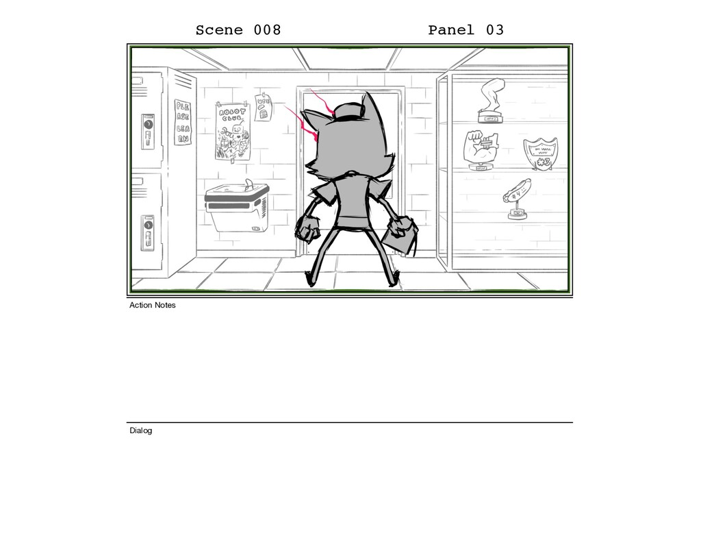 Scene 008 Panel 03 Dialog Action Notes
