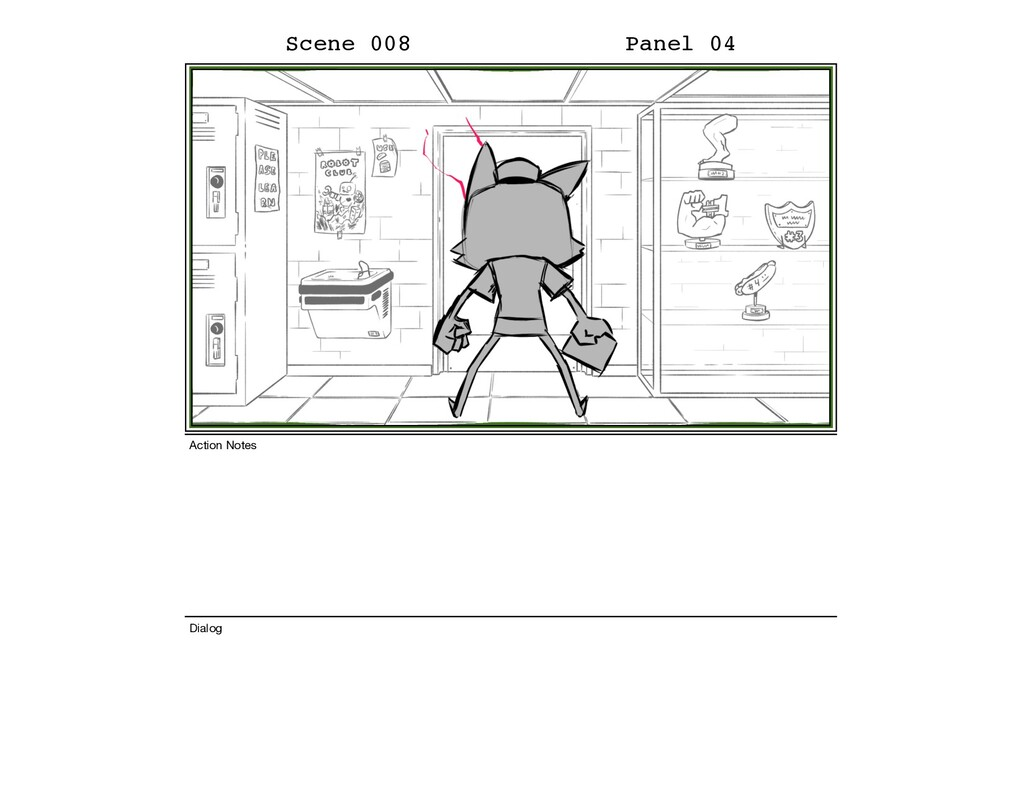 Scene 008 Panel 04 Dialog Action Notes
