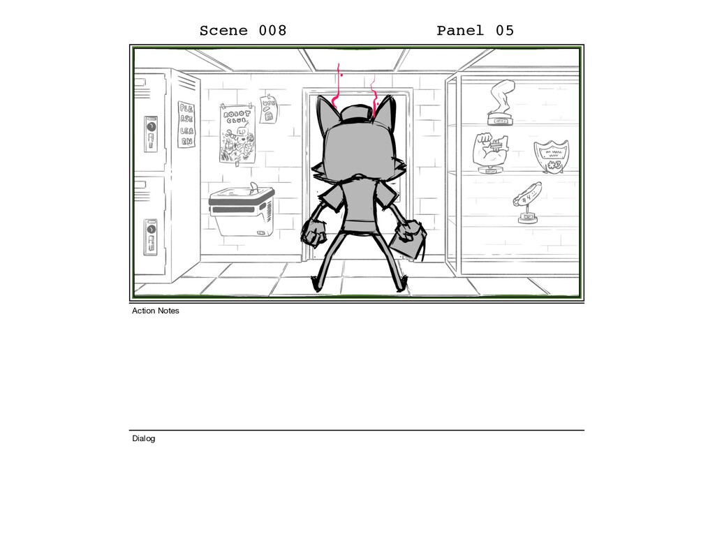 Scene 008 Panel 05 Dialog Action Notes