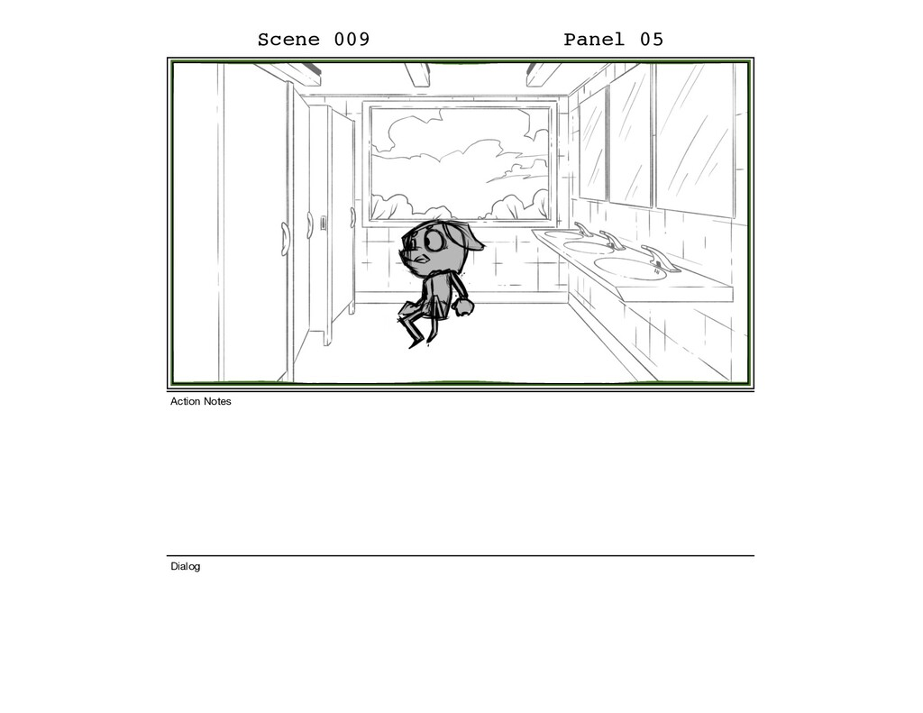 Scene 009 Panel 05 Dialog Action Notes