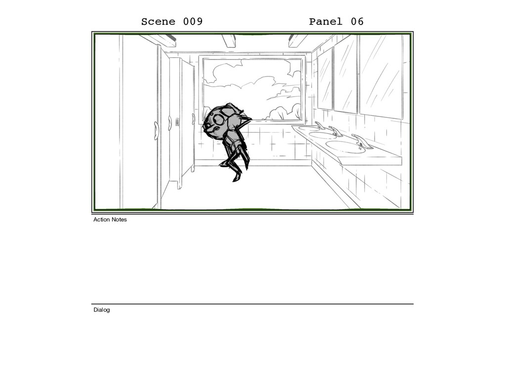 Scene 009 Panel 06 Dialog Action Notes