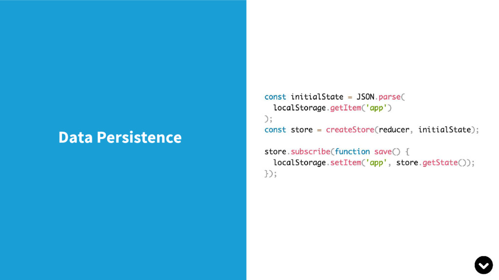 Data Persistence