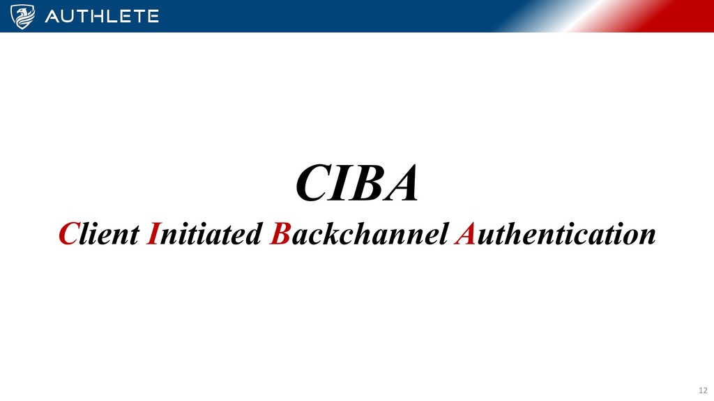 CIBA Client Initiated Backchannel Authenticatio...