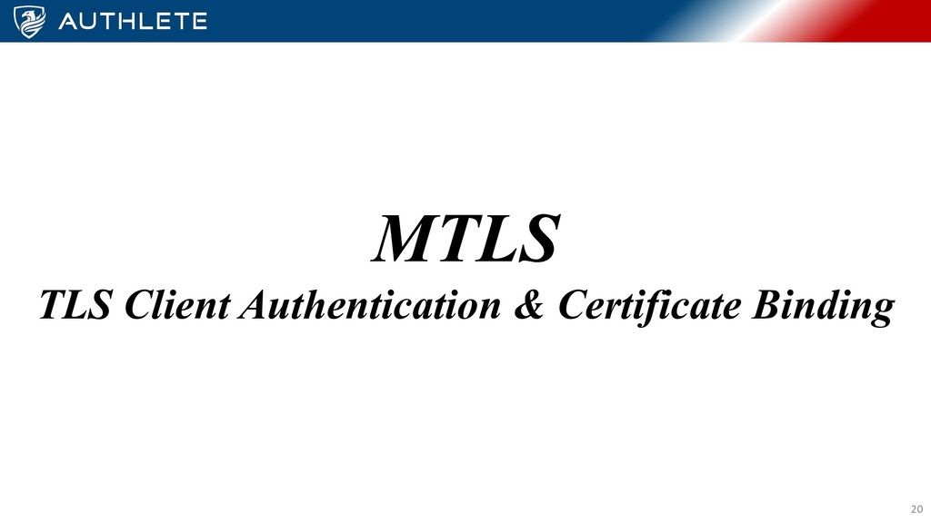 MTLS TLS Client Authentication & Certificate Bi...