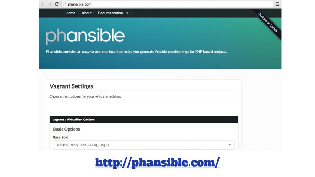 http://phansible.com/